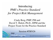 41629891-Practice-Standard-for-Project-Risk-Management-Development-and-Content