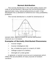 Normal distribution.docx