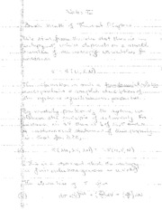 Phys 176 Notes on Basic Math