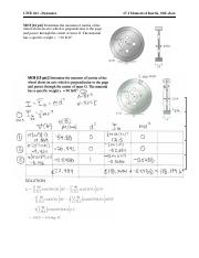 CIVE261 Final Exam Practice Problems Solutions