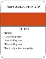 Building collapse presentation.pptx