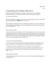 Gospel Research & Writing #11.docx
