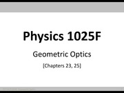 PHY1025F.2014.O01.Optics.Lecture1.Notes