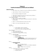 CGD chapter 12 Lecture Outline Notes
