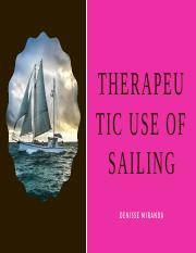 Thearpeutic Use of Sailing.pptx