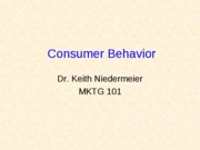 2. Consumer BehaviorWC