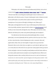 Philosophy-essay on philosophy.docx