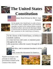 The United States Constitution.docx