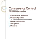 L5-ConcurrencyControl