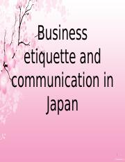 Business etiquette and communication in Japan (1).pptx