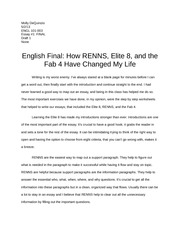 essay 2 engl 101 carter rhonda