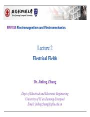EEE108 Lectures2_Electrical Fields_Upload