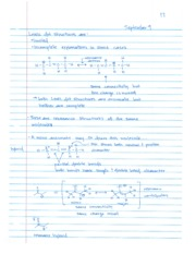 Organic CHEM 9.09 Lecture Notes