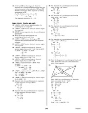 Pre-Calculus Homework Solutions 243