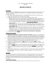 L201 (Fall 2012) - Exam #2 v5 (edited) [ product liability questions] (2)