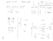 2014-09-09 CHEM 322 Lecture Notes and Quiz Blank and Key