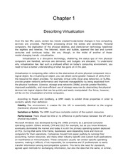 Virtual Technologies Chapter 1