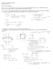 Exam 3 Solution Spring 2014 on Mechanics of Materials