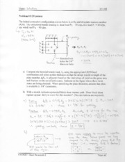 CEE460 Exam 1 Solution (Spring 2008)