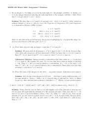 MATH135W16Assignment07Solutions