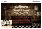 Gillette Turning Men into Gentlemen - Public