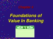 Bank Mgt. 5th Ed, Chapter 4 Revised
