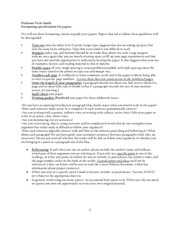 Paper Formatting Guidelines
