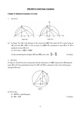 CE Paper 1 for S.4 Ch 9