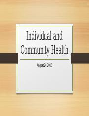 Individual+and+Community+Health.pptx