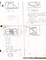 Areas of Triangles and Quadrilaterals Problems