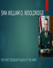 SMA WILLIAM O