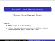 Lecture14+_updated_+-+Monetary+Policy+and+Aggregate+Demand