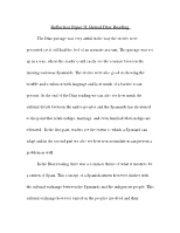 Reflection Paper II