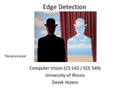 Lecture 06 - Edge Detection - Vision_Spring2012