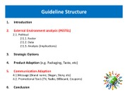 Guideline Structure