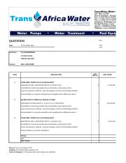 GG Engineering_Kilimanjaro Complex_quotation for the supply of water transfer pumps (RVSD).xls