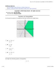 Systems of Inequalities exam.pdf