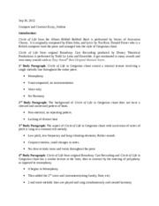Compare and Contract Essay_Outline