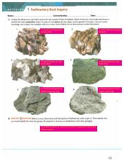 Sedimentary Rocks Lab_7