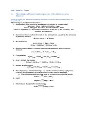 The Chemical Earth - Notes.pdf