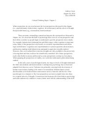 Critical Thinking Paper- Ch. 1.docx
