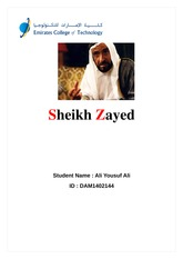 Sheikh Zayed new