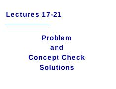 LectureSolutions17to21