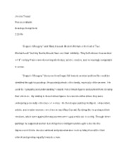 character analysis essay example a rose for emily This is an essay on the analysis of a rose for emily by character analysis of a rose for emily foreshadowing in a rose for emily - research papers on.