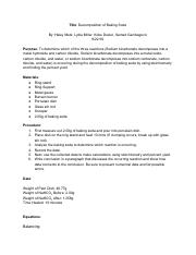 Decomposition of Baking Soda.pdf