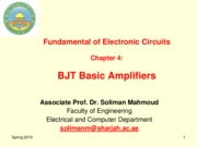 Fund. Of. Electronics-ch04-BJT Transistor