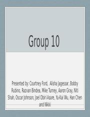 Group 10 pp race history