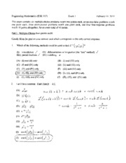 exam 1 spring 2010 solutions