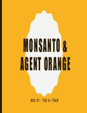 "agent orange or herbicide orange Epa advances approval of powerful weed killer for dow's 'agent orange' gmo ""enlist duo herbicide will help solve the weed control challenges."