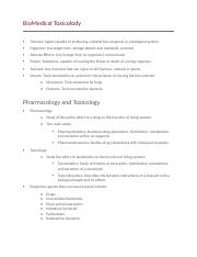 BioMedical Toxicolody.docx